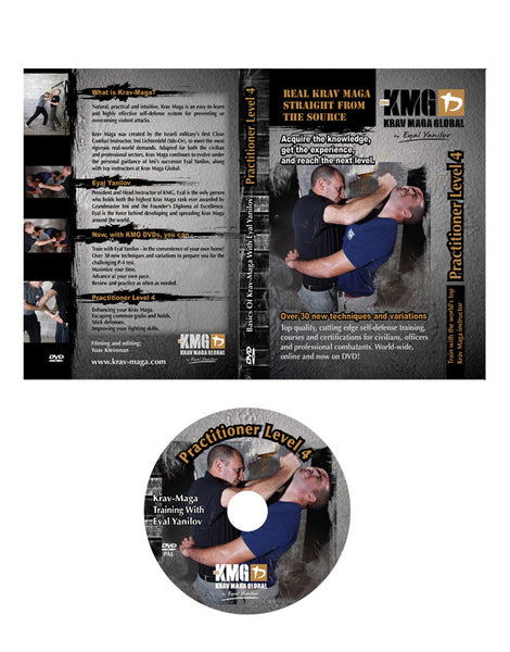 Krav Maga Global P4 DVD (Practitioner 4)