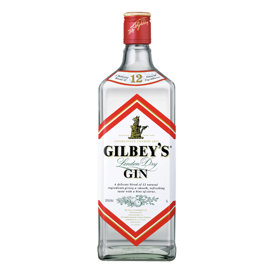Gilbey's London Dry Gin (1140ml)