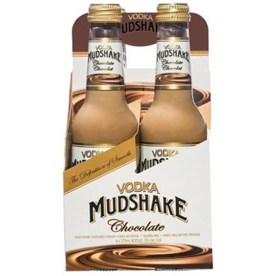 Vodka Mudshake Chocolate (4 Bottles)