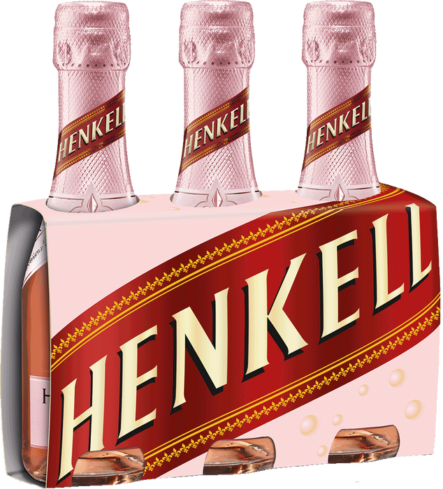 Henkell Trocken Rose Piccolo Wine (3 Bottles)