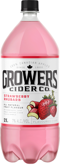Growers Strawberry Rhubarb Cider (2000ml)