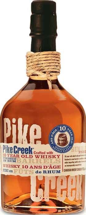 Pike Creek Double Barreled Canadian Whisky (750ml)