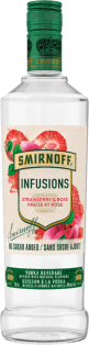 Smirnoff Infusions Strawberry & Rose Vodka (750ml)