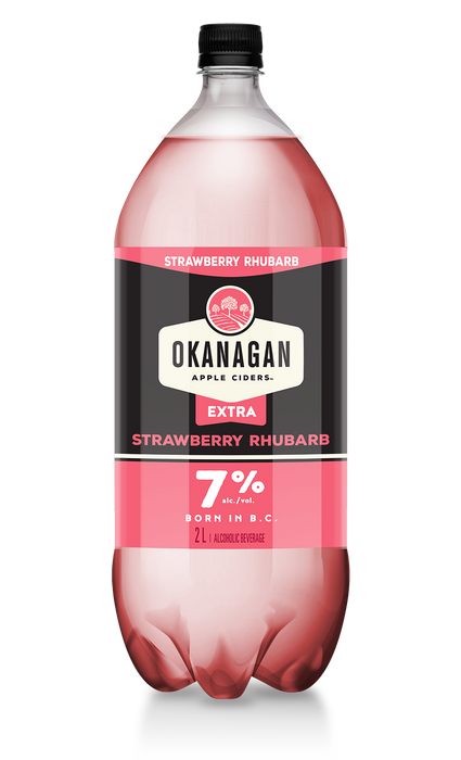 Okanagan Strawberry Rhubarb Cider (2000ml)
