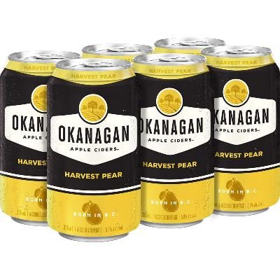 Okanagan Harvest Pear Cider (6 Cans)