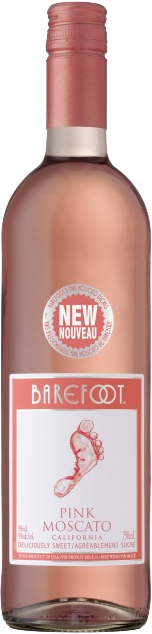 Barefoot Pink Moscato Rose Wine (750ml)