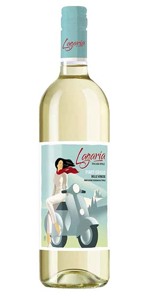 Lagaria Pinot Grigio White Wine (750ml)