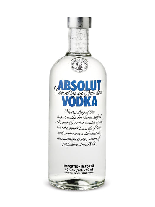 Absolut Blue Vodka (750ml)