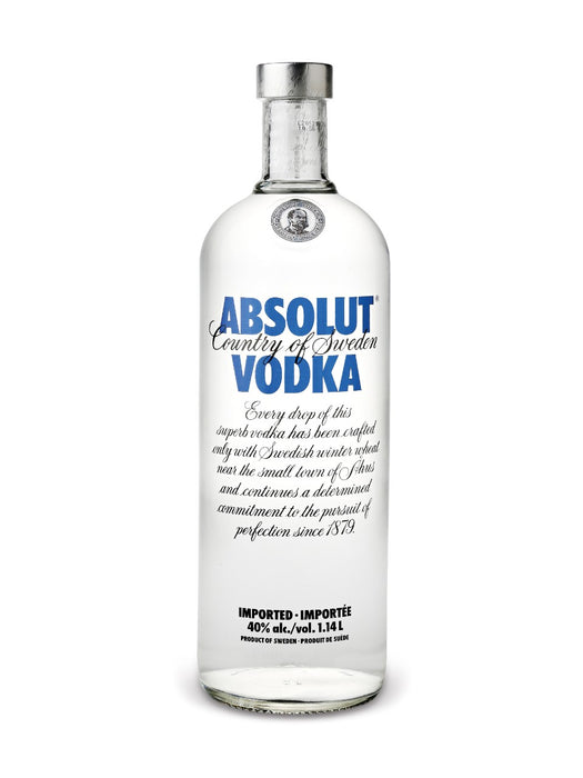 Absolut Blue Vodka (1140ml)