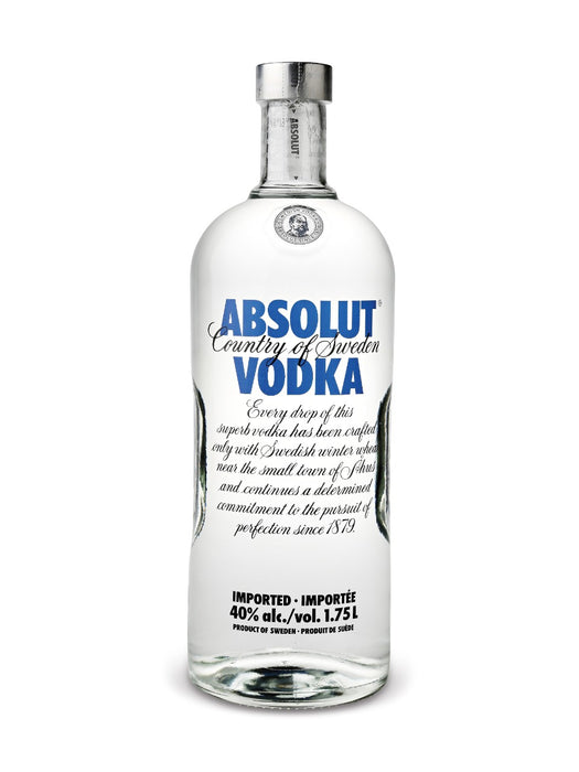 Absolut Blue Vodka (1750ml)