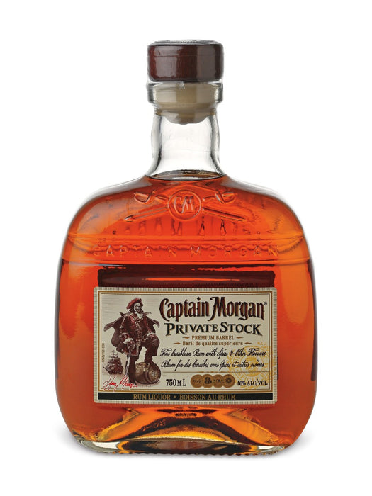 Captain Morgan Private Stock Spiced Rum (750ml)