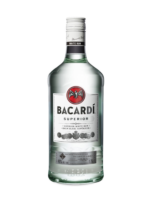 Bacardi Superior White Rum (1750ml)