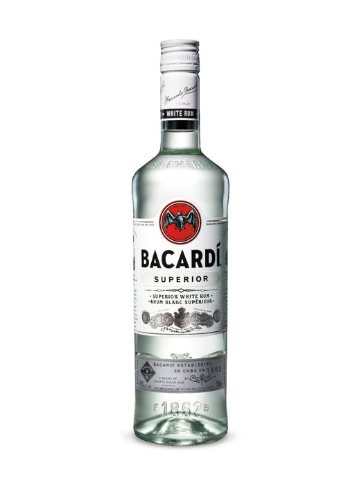 Bacardi Superior White Rum (750ml)
