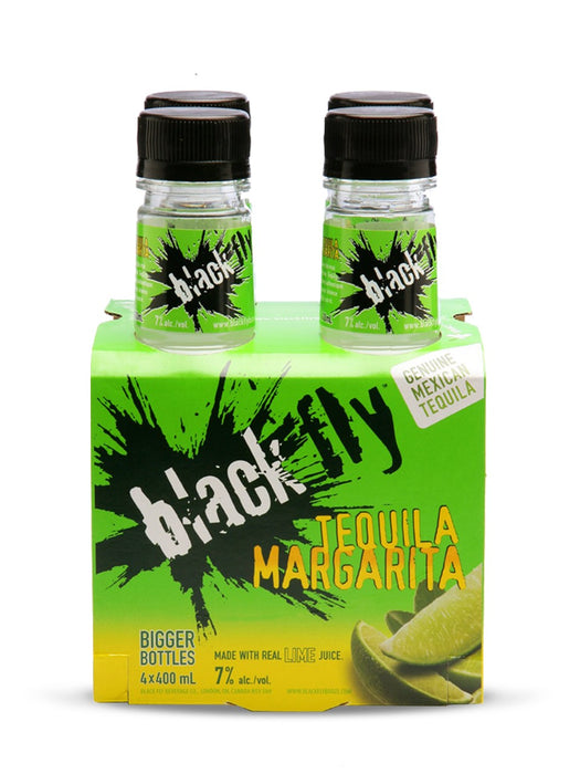 Black Fly Tequila Margarita (4 Bottles)