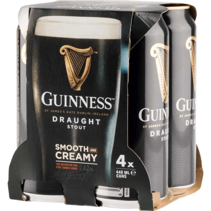 Guinness Pub Draught (4 Cans)