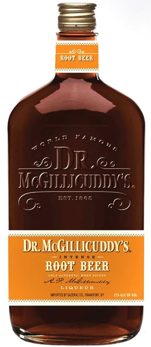 Dr McGillicuddy's Intense Root Beer Liqueur (750ml)