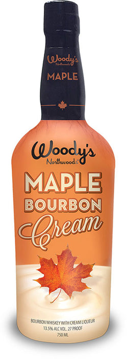 Woody's Maple Bourbon Cream Liqueur (750ml)