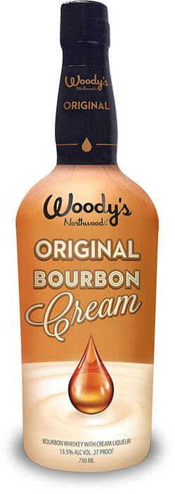 Woodys Original Bourbon Cream Liqueur (750ml)