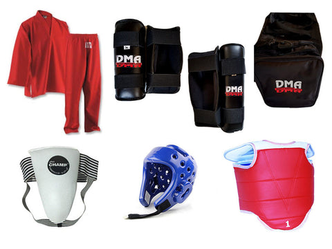Safety Equipment Bundle (Adult)
