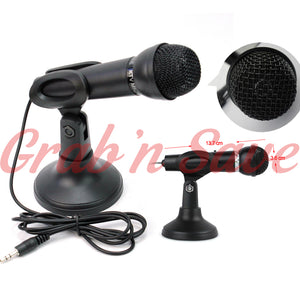 3.5MM Microphone, Computer Microphone, Microphone