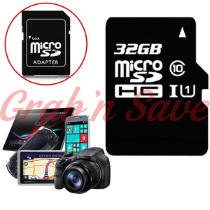 32GB Micro SD Card, Micro SD Card, Class 10 Micro SD Card
