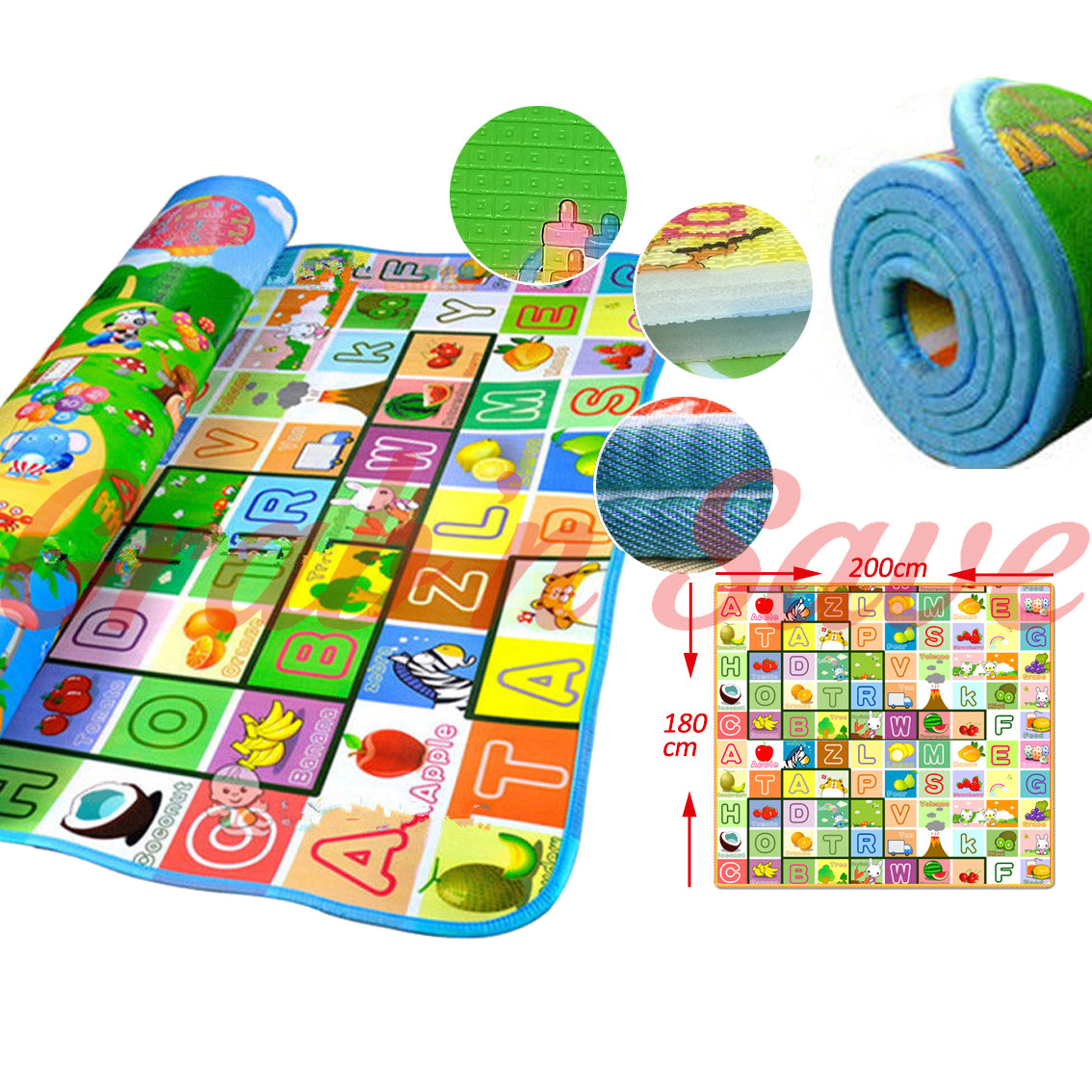 Baby Play Mat, Baby Play Gym, Play Mat