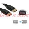 Display Port Cable,  Displayport to Displayport Cable,  Displayport to Displayport Adapter