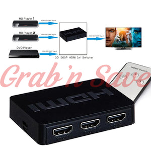 HDMI Splitter, HDMI Switcher, HDMI Switcher Box