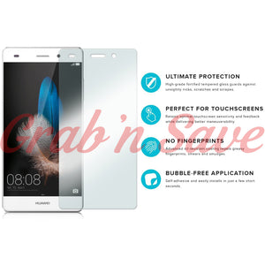 Huawei P8 Lite Screen Protector, Glass Screen Protector, Tempered Glass Screen Protector