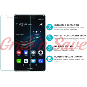 Huawei P9 Lite Screen Protector, Glass Screen Protector, Tempered Glass Screen Protector
