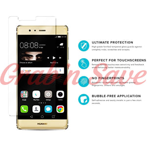 Huawei P9 Plus Screen Protector, Glass Screen Protector, Tempered Glass Screen Protector