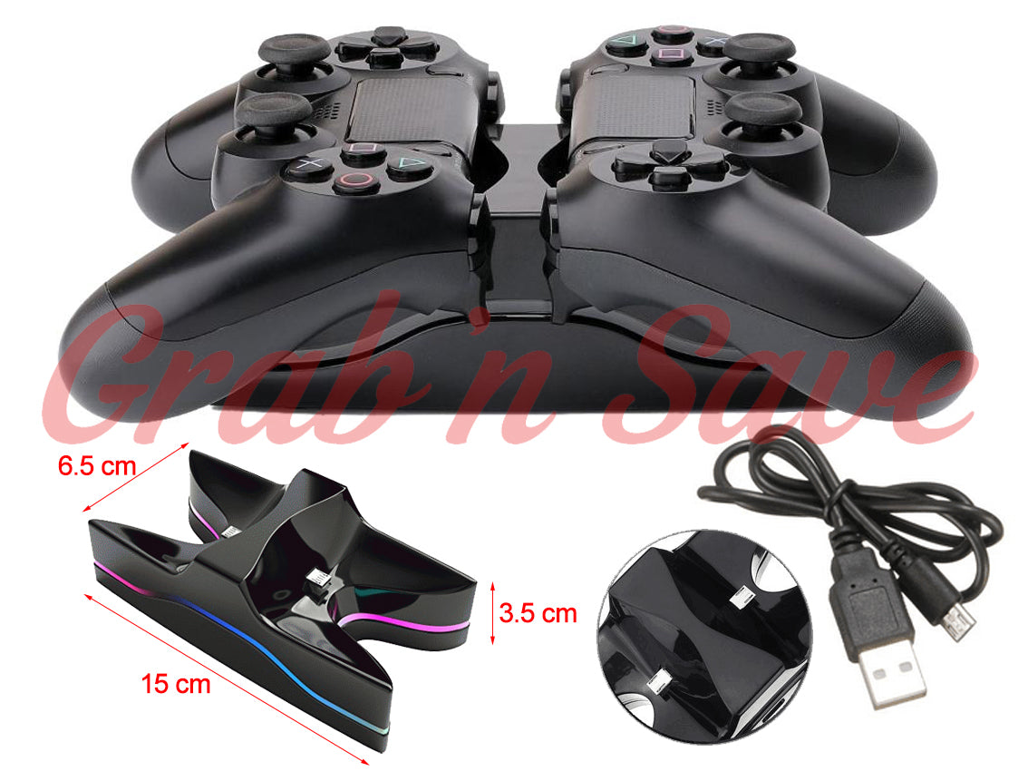 Play Station 4 Controller, PS4 Controller, PS4 Controller Charger