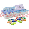 Pill Organizer, Pill Box, Pill Container