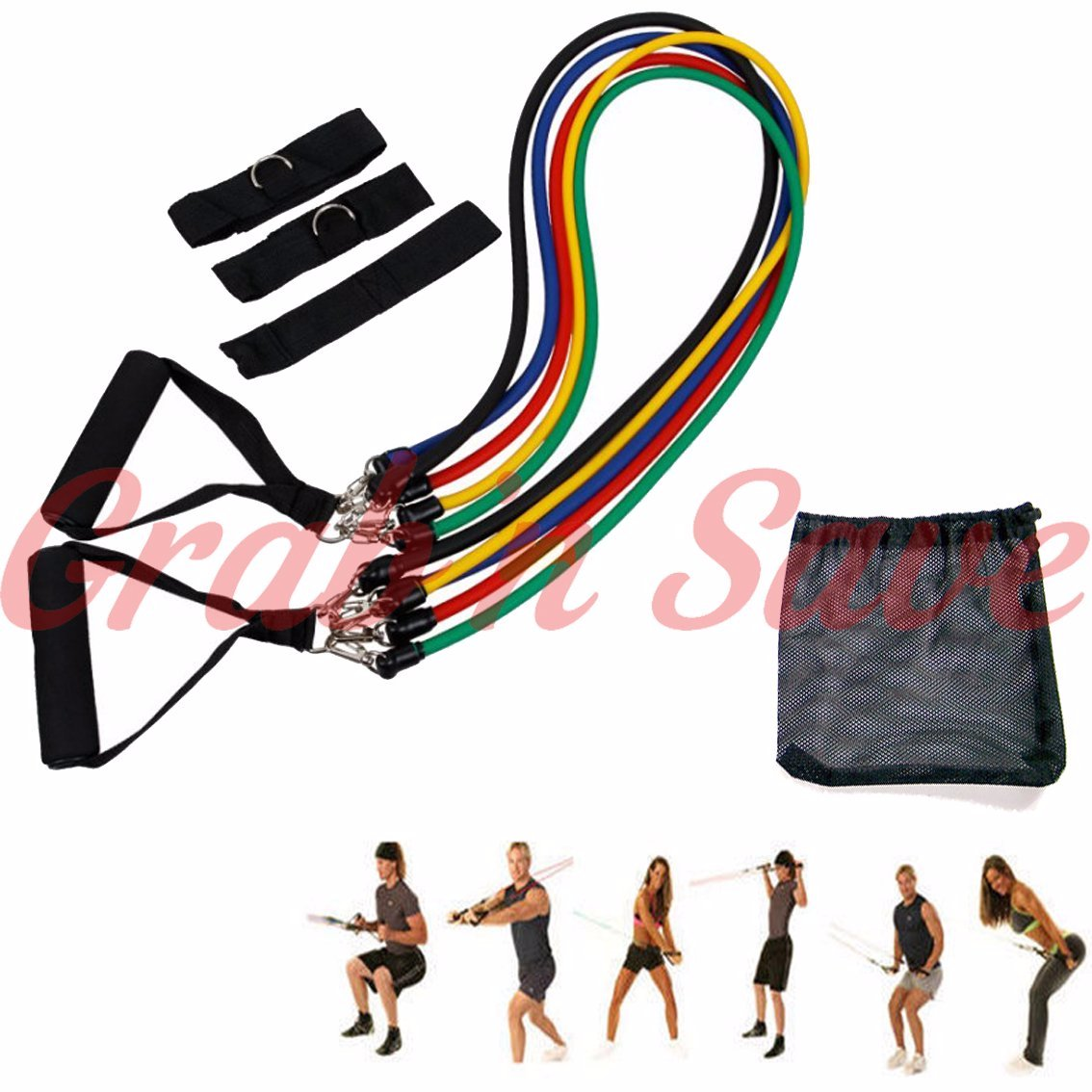 Resistance Bands, Resistance Bands Exercises, Resistance Bands Workouts