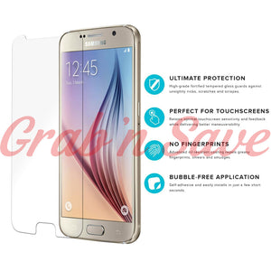 Samsung S6 Screen Protector, Glass Screen Protector, Tempered Glass Screen Protector