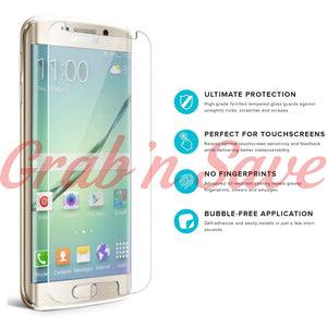 Samsung S7 Edge Screen Protector, Glass Screen Protector, Tempered Glass Screen Protector