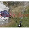 Solar Water Pump. Water Fountain Pump, Solar Powered Water Pump