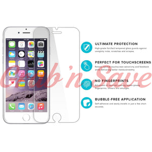 iPhone 7 Screen Protector, Glass Screen Protector, Tempered Glass Screen Protector