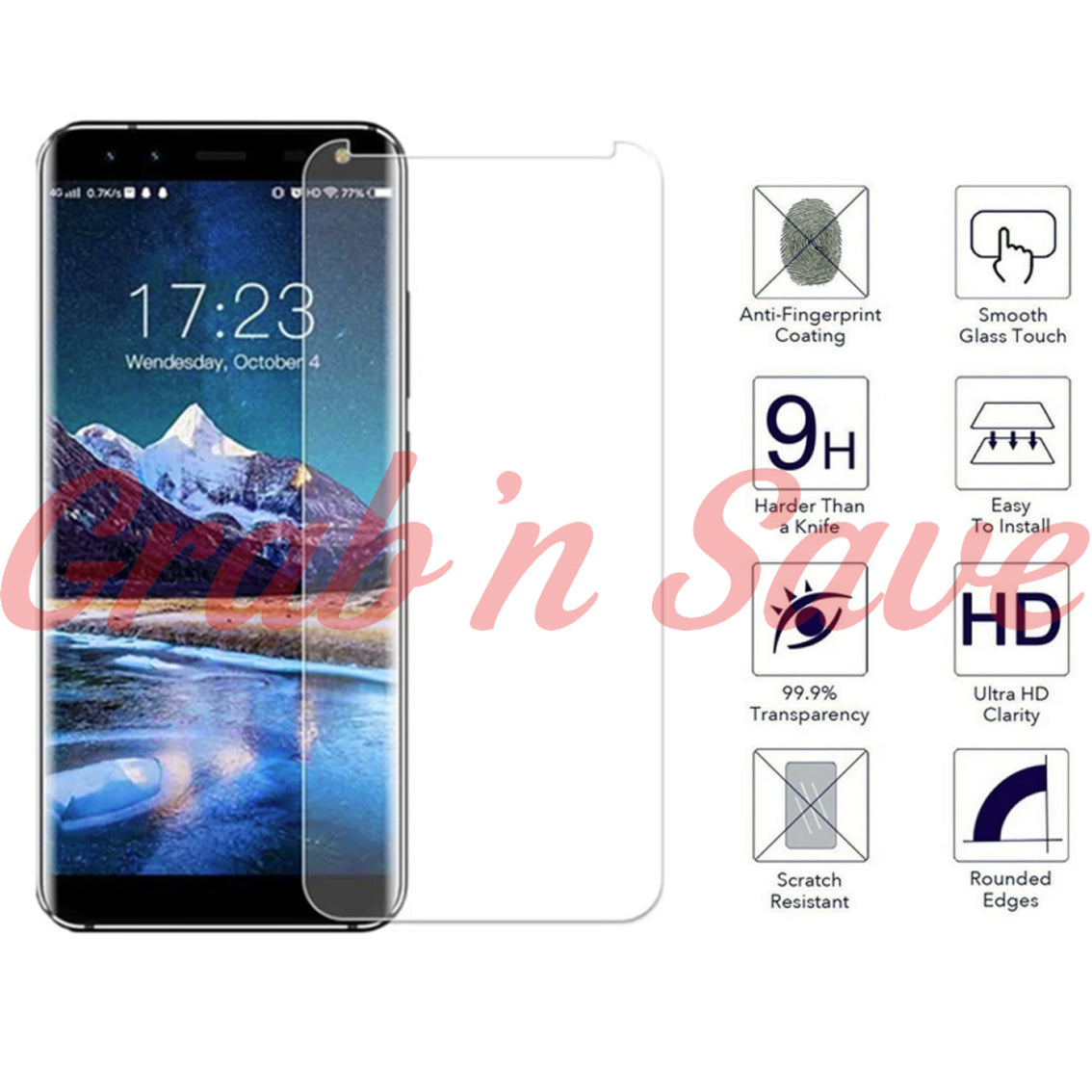 Samsung Note 8 Screen Protector, Glass Screen Protector, Tempered Glass Screen Protector