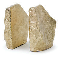 Rock Gold Bookends