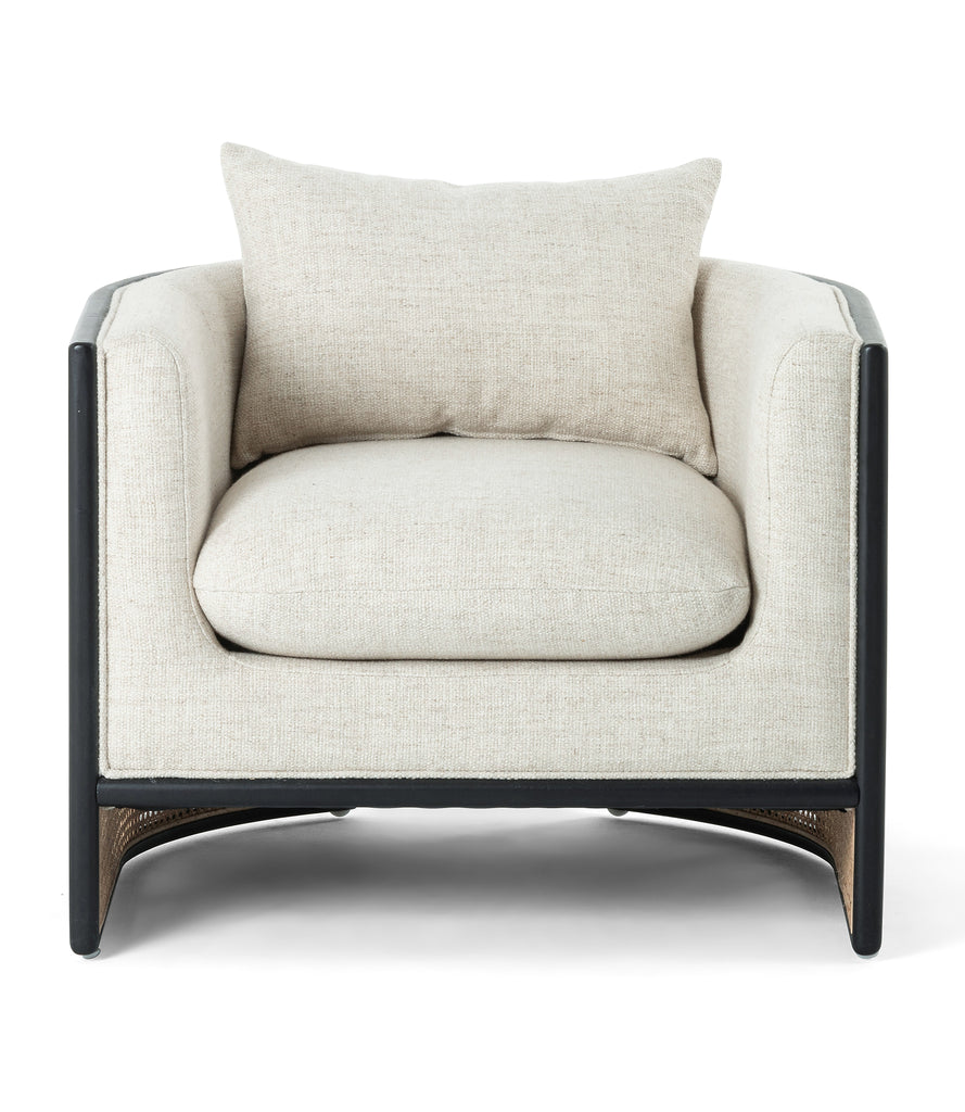 June Lounge Chair - Brushed Ebony
