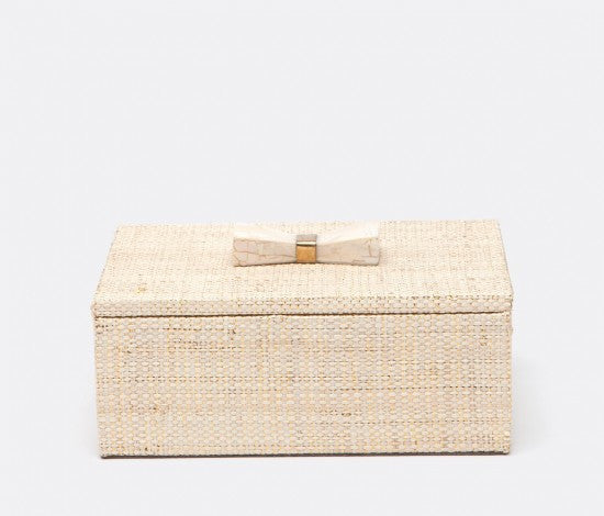 MALARET Natural/Gold Raffia