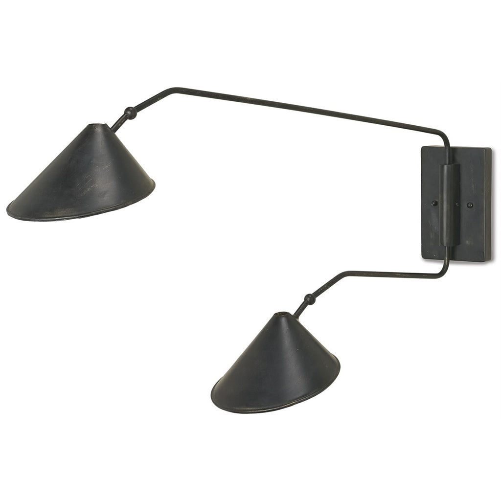 Serpa Double Wall Sconce