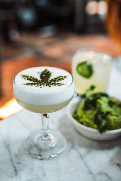 CBD Infused cocktails and mocktails to ring in the new year!