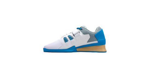 Velaasa Strake: Olympic Weightlifting Shoe in Spring Blue
