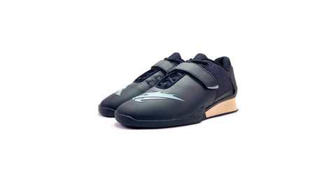Velaasa Strake: Olympic Weightlifting Shoe in Black - Europe