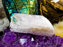 Large whisper pink Danburite crystal || Rainbows ||  Self love Enlightenment #2