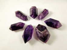 Grape Purple Double Terminated Amethyst Wand Point || Polished ||