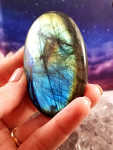 XXL Labradorite Cabachon || Amazing Flash || Polished on all sides