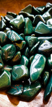Bloodstone Tumbled Crystal || Stone of Courage || Be here Now